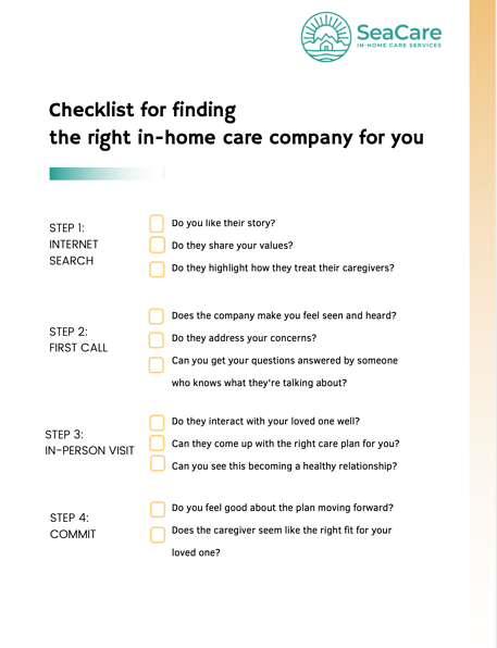 checklist-for-finding-the-right-in-home-care-company