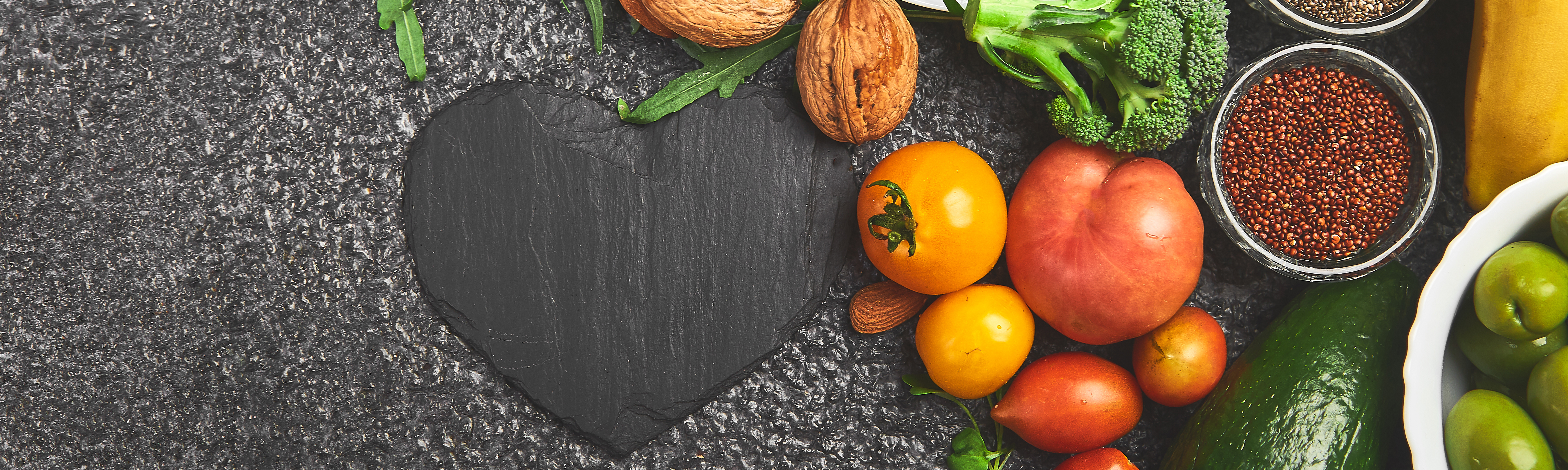 Diet is an important part of heart health