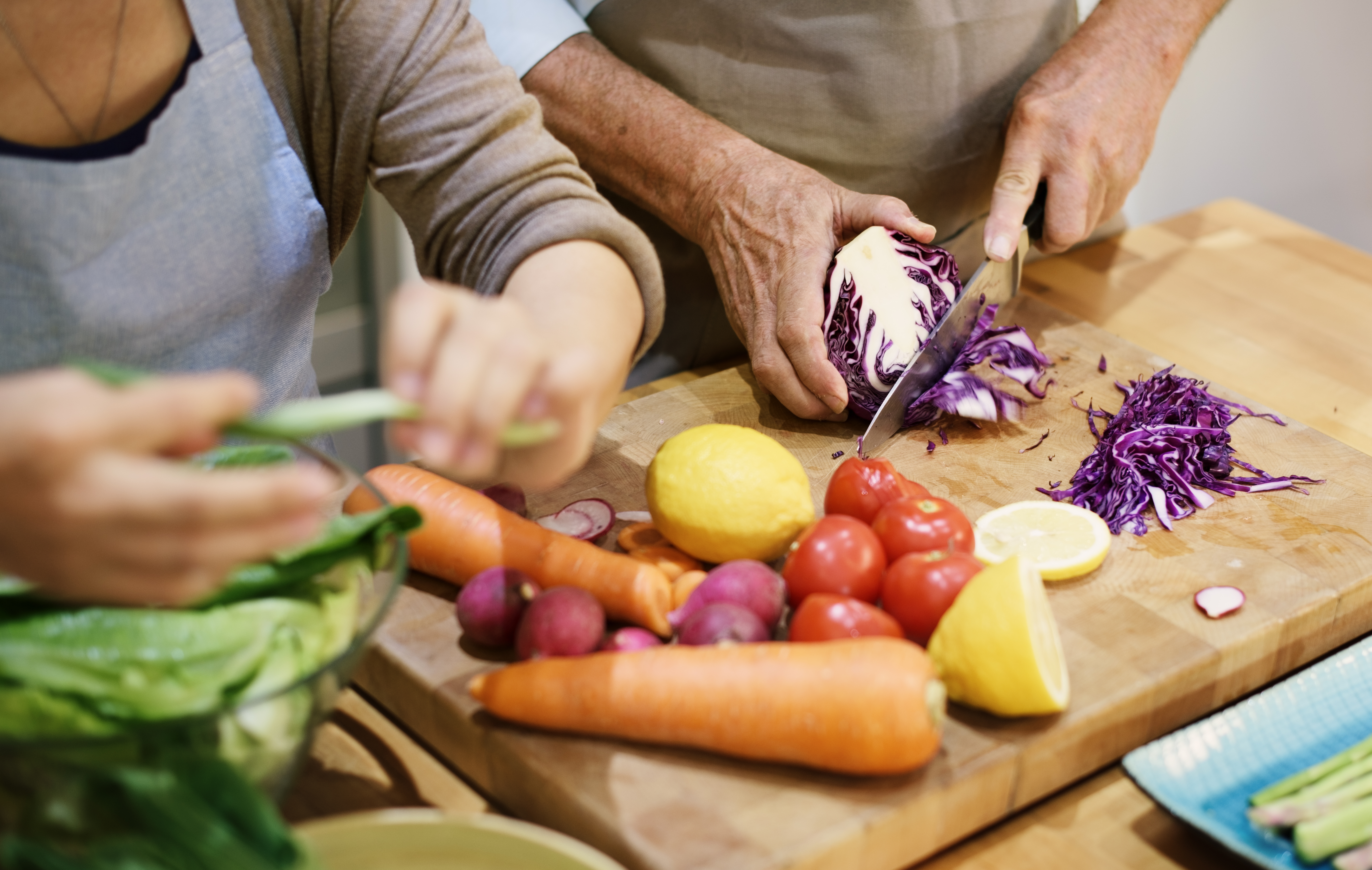 Cooking for a healthy life at home