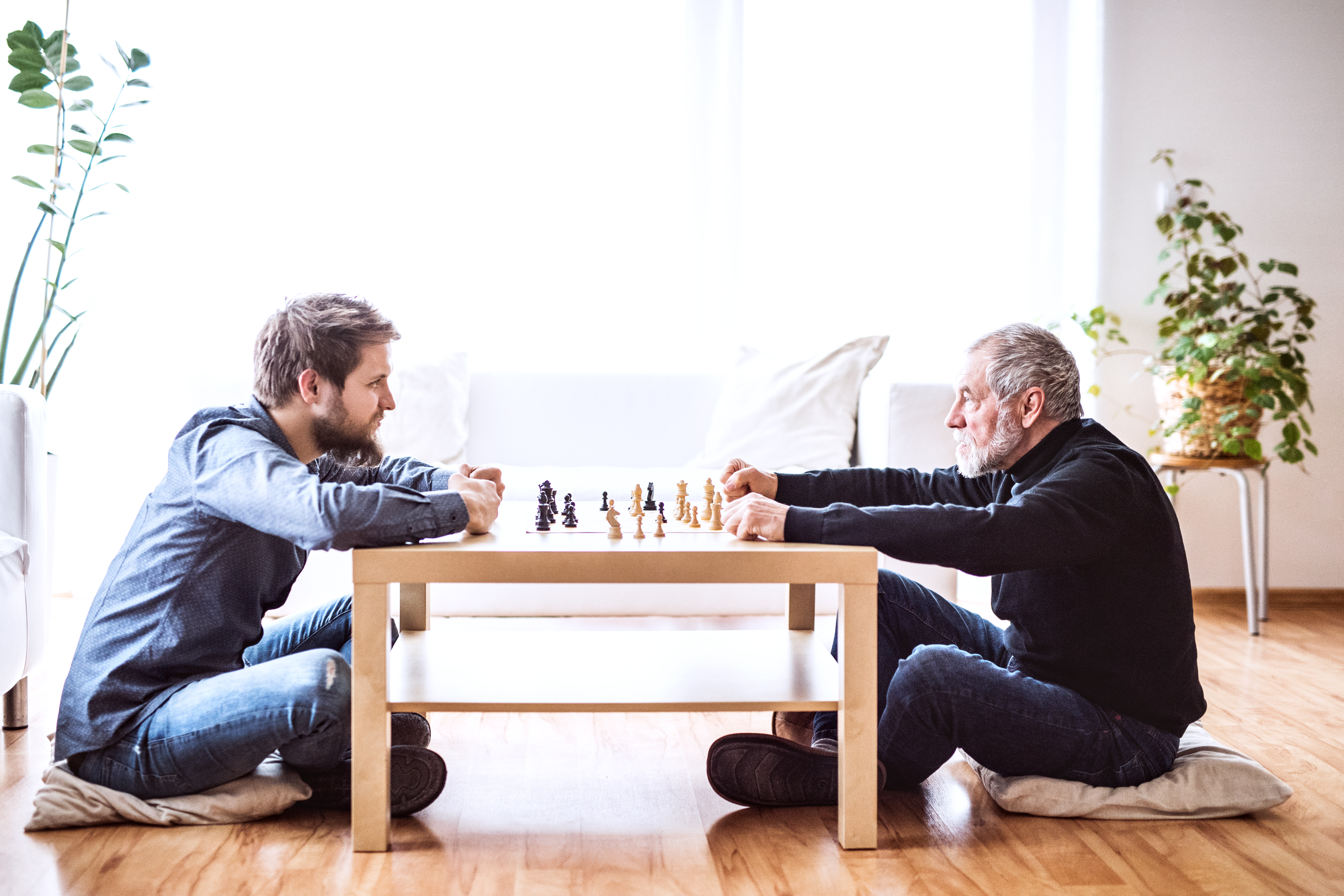 Board games keep seniors minds engaged
