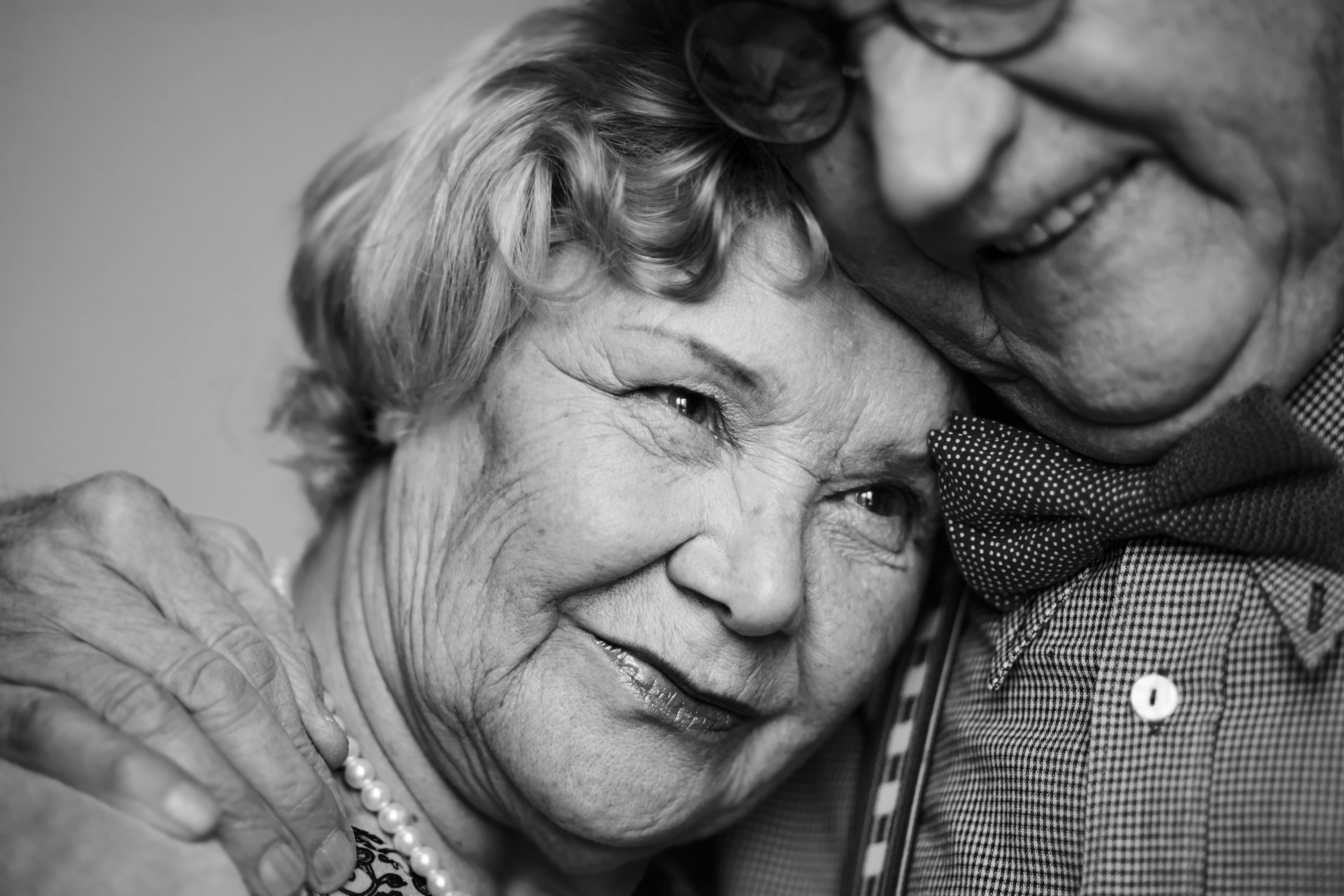 Senior couple thinking about the future